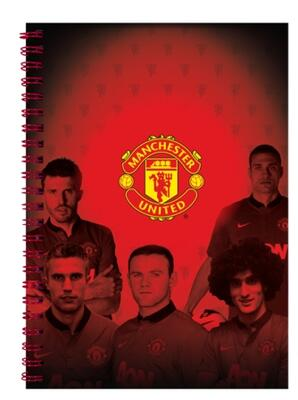 Manchester United - Notesbog A5