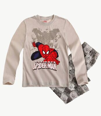 Spiderman - Pyjamas grå