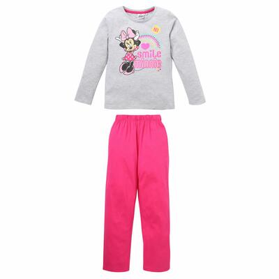 Disney Minnie Pyjamas grå/pink