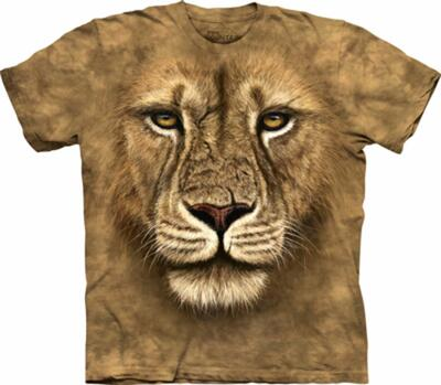 The Mountain T-shirt, Lion Warrior