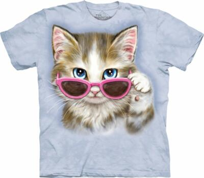 The Mountain T-shirt, Be Kitten