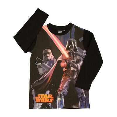 Star Wars Langærmet T-shirt Black