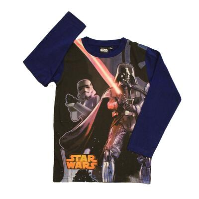 Star Wars Langærmet T-shirt Blå
