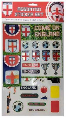 Fodbold stickers med England