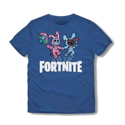 Fortnite kortærmet t-shirt blå