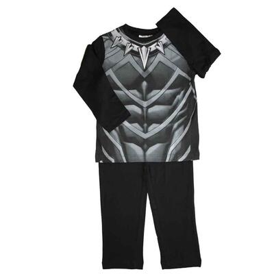 Marvel Avengers Black Panther pyjamas sort