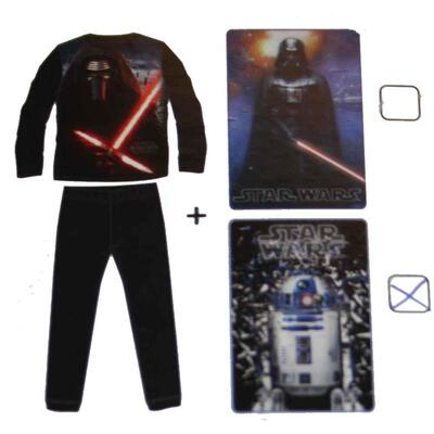 Star Wars pyjamas + plaid sæt