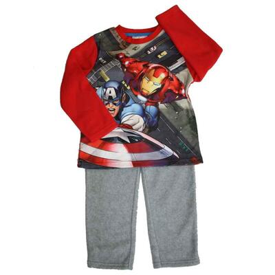 Marvel Avengers Fleece pyjamas med Iron Man og Captain America
