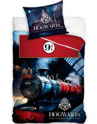 Harry Potter Sengetøj 140x200 Hogwarts Express