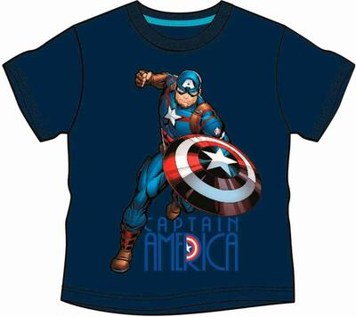 Avengers Marvel kort t-shirt navy