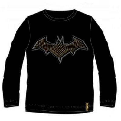 Sort Batman T-shirt med lange ærmer