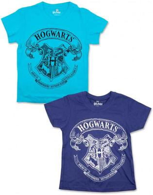 Harry Potter kort t-shirt turkis eller lilla