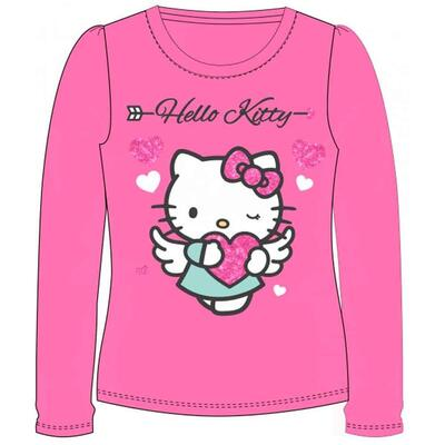 Langærmet Hello Kitty t-shirt