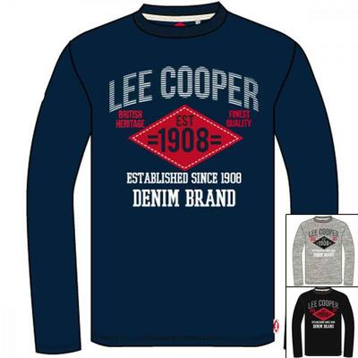 Lee Cooper LS t-shirt navy