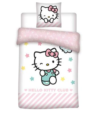 Hello Kitty sengetøj 140x200
