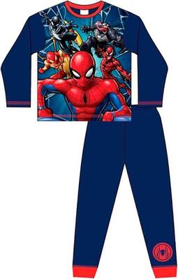 Navy pyjamas med Spiderman motiv