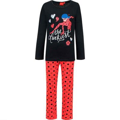 Ladybug pyjamas the luckiest sort rød