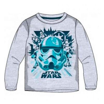 Star Wars t-shirt ls grå