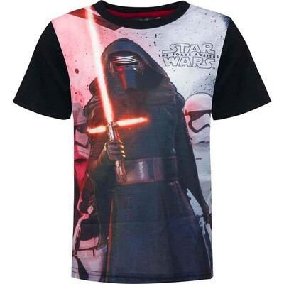 Star Wars t-shirt kort the forces awake