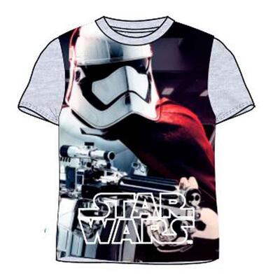 Star Wars kort t-shirt grå