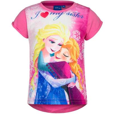 Disney Frost Pink t-shirt love my sister