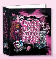 Monster High Sweet 1600 Ringbind A5