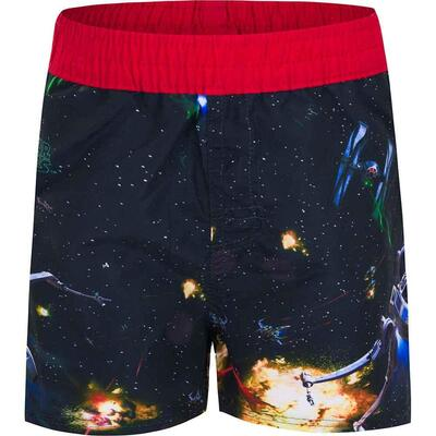 Star Wars Star Battle badeshorts røde