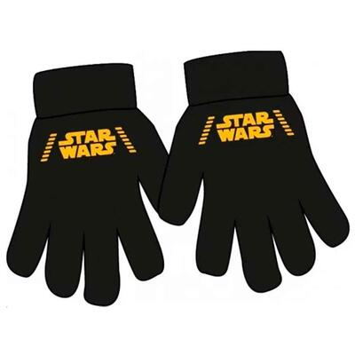 Star Wars fingervanter sort