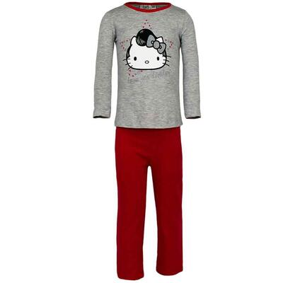 Hello Kitty pyjamas grå elvis