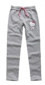 Hello Kitty joggingbukser grå glitter print