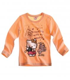 Hello Kitty langærmet t-shirt