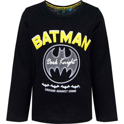 Batman langærmet t-shirt sort Dark Knight