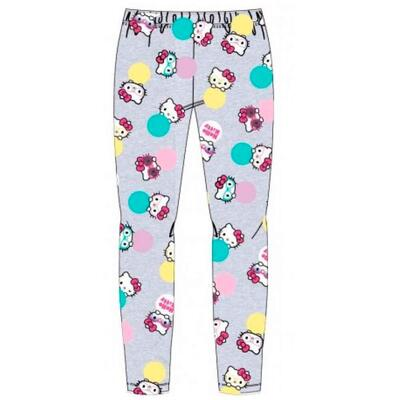 Hello Kitty leggings til piger i grå