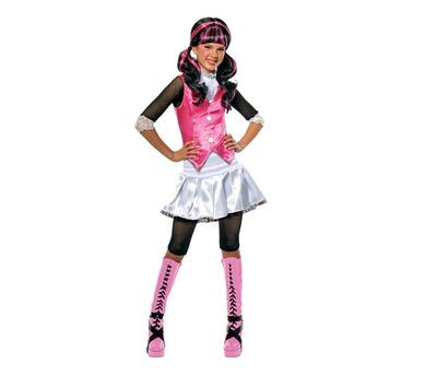 Monster High kostume - Drakulaura str. 5-6 år