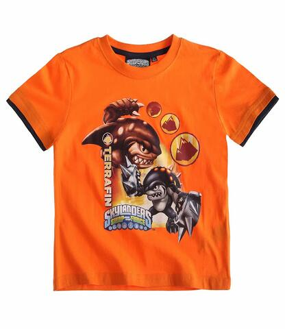 Skylanders Swapforce - kortærmet T-shirt orange