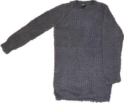 Sweater strik grå - KIDS-UP