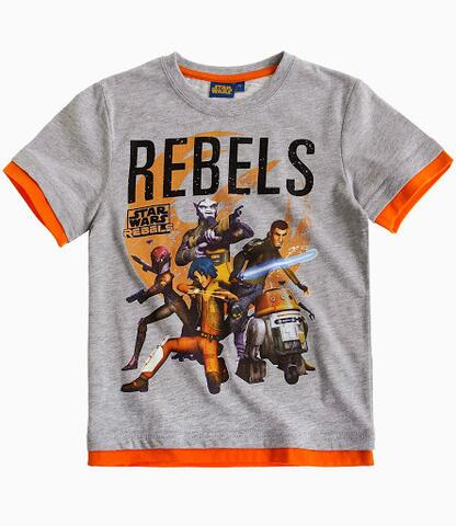 Star Wars Rebels - Kortærmet T-shirt lys gråmelange