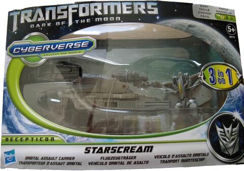 Star Scream Cyberverse - Transformers 3