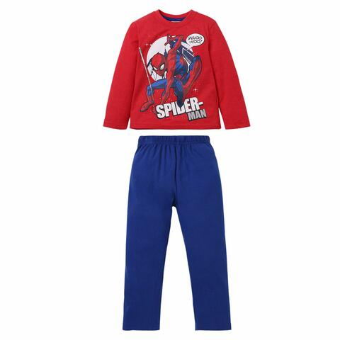 Spiderman Pyjamas Rød/Blå
