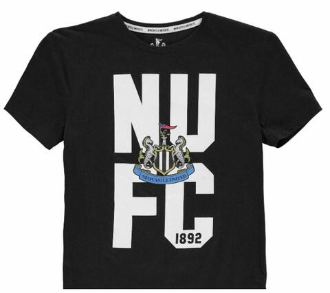 Newcastle United T-shirt NUFC Sort