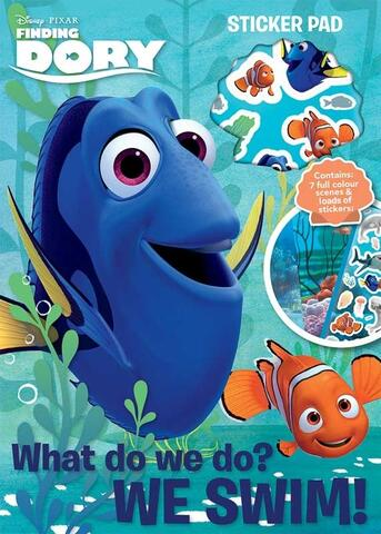 Find Dory Sticker Pad