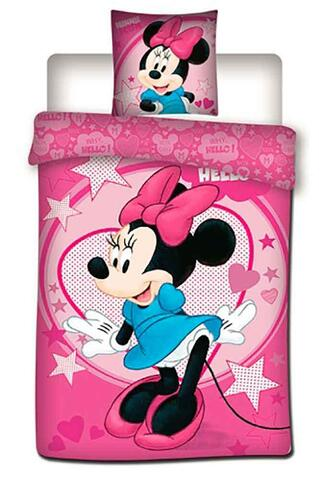 Minnie Mouse sengesæt 140x200 pink