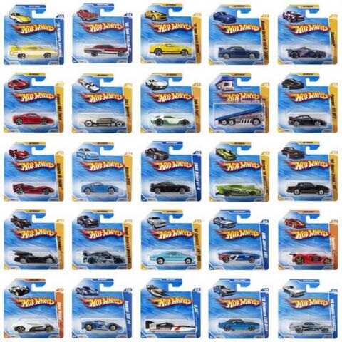Hot wheels biler assorteret 1:64