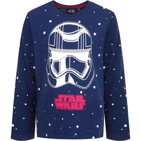 Langærmet Star Wars t-shirt navy