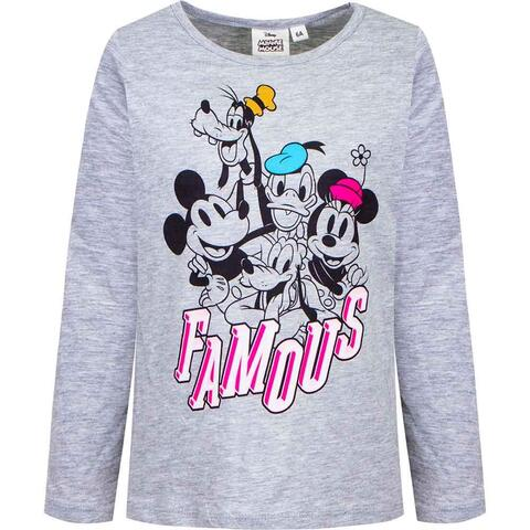 Minnie Mouse t-shirt organic grå
