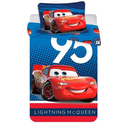 Disney Cars sengetøj junior 100x140