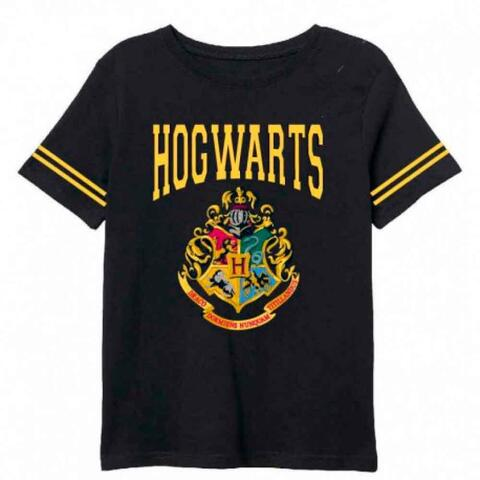 Harry Potter sort t-shirt med korte ærmer