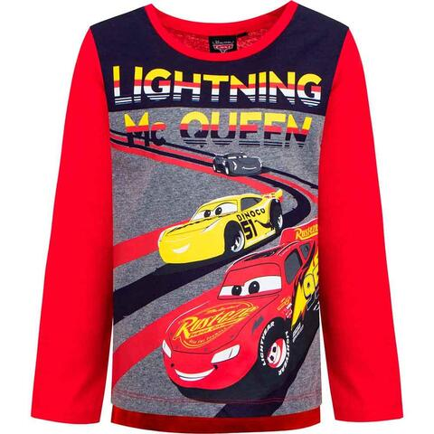 Disney Cars t-shirt rød Lightning