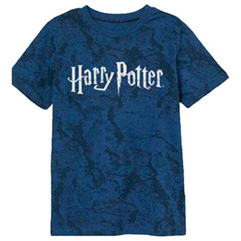 Harry Potter t-shirt kortærmet blå sort
