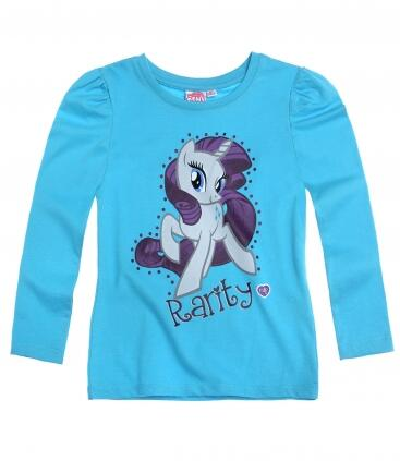My little Pony - Langærmet t-shirt blå Rarity